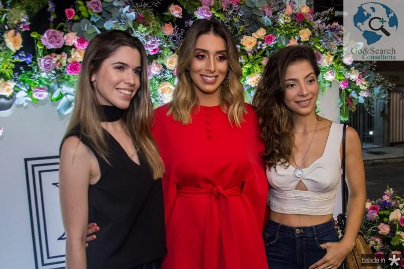 Emanuela Pinto, Nathalia Ximenes e Maria Eugenia Ventura
