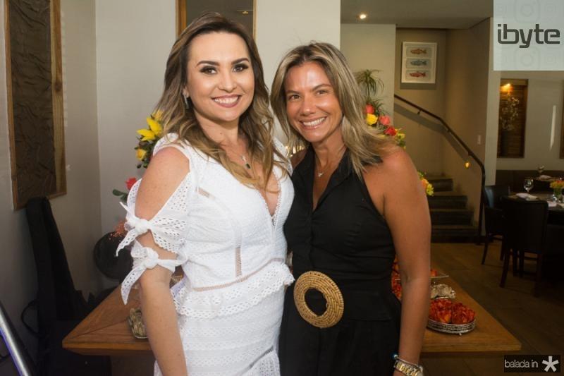 Socorro Medeiros e Vanessa Queiros