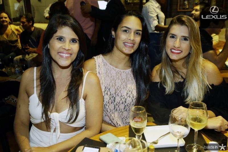 Adalia e Cristina Oliveira e Ticiana Girao