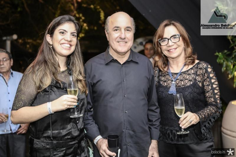 Beatriz Wolff, Silvio Frota e Lucia Wolff