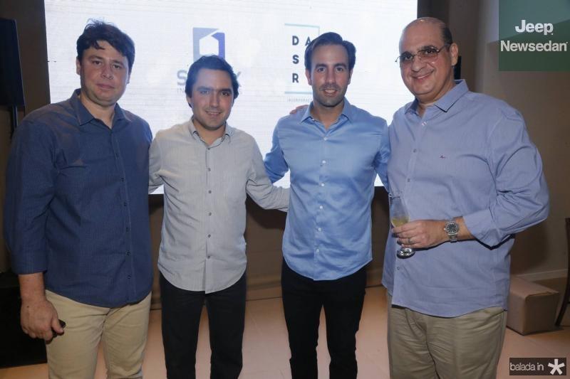 Ricardo Ary, Fernando Castelo Branco, Vitor Frota e Walder Ary