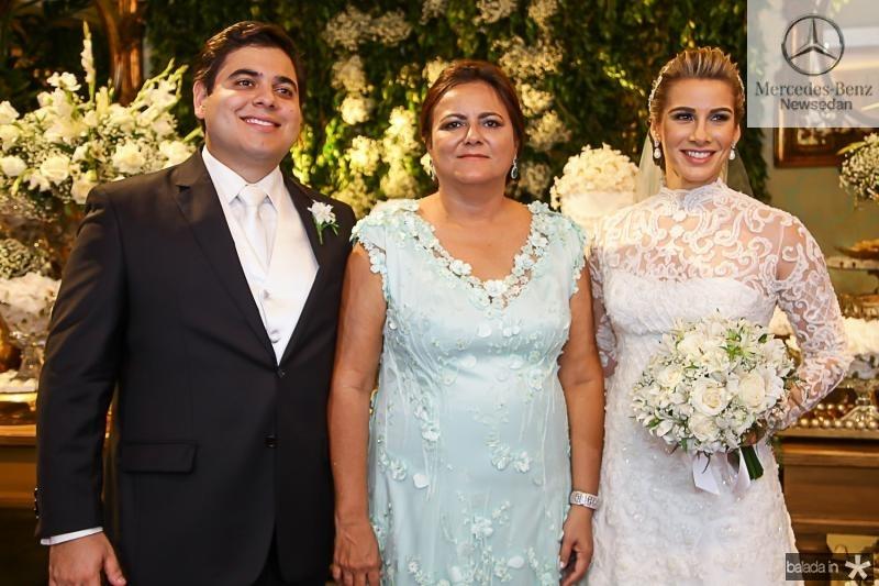 Paulo Maciel, Marta Cunha e Ticiana Pimentel