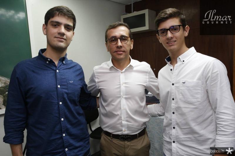 Germano Filho, Delano e Joao Pedro Belchior