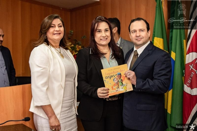 Natercia Campos, Emillya Pessoa e Igor Queiroz Barroso