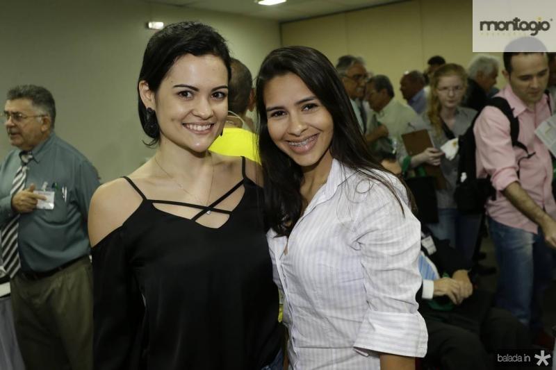 Preiscila Azevedo e Carolina Teixeira