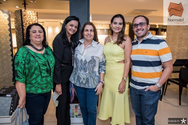 Magdalena Bonfim, Edvania Caldas, Marcia Albuquerque, Georgia Vieira  e Hemerson Martins