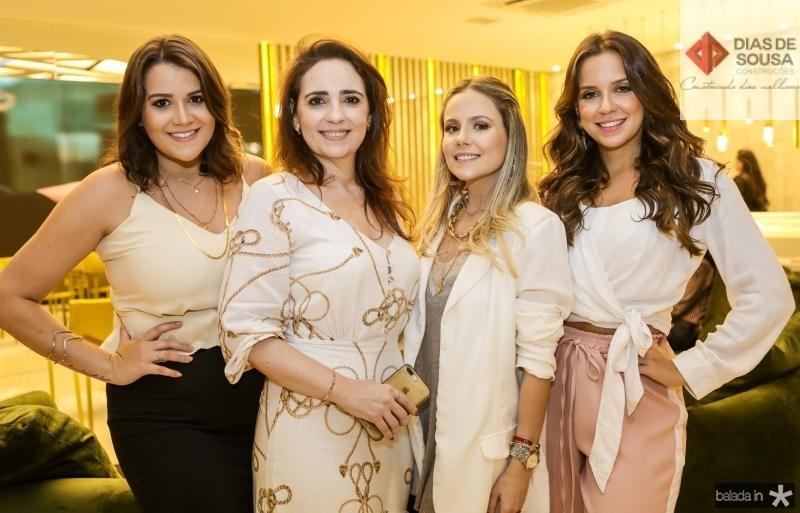 Juliana Dias, Iasbela Fontenele, Erica Dantas e Fernanda Levy