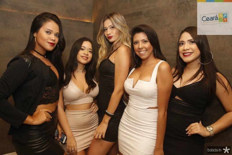 Jessica Costa, Cyntia Maciel, Malu Sena Larissa, Andrade e Andreza Alves