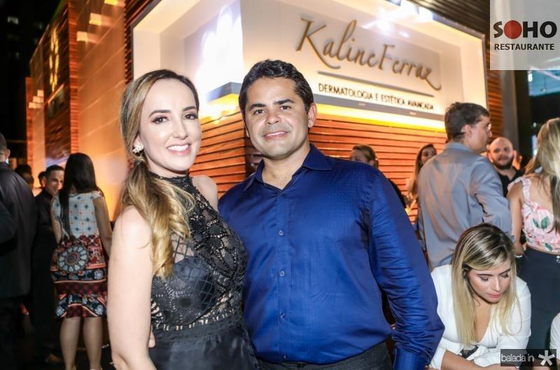 Kaline Ferraz e Alfredo Savio
