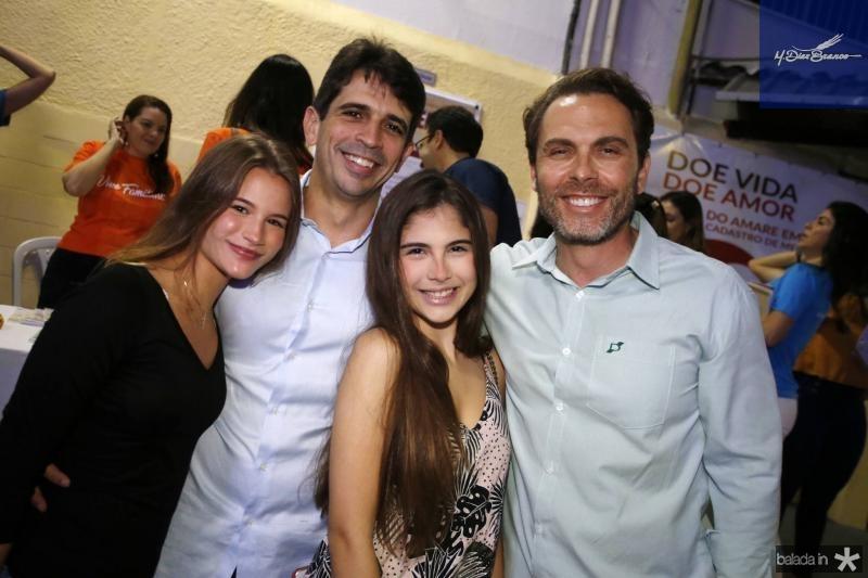 Livia Pouchain, Mauricio Targino, Cecilia  e Carlos Fiuza