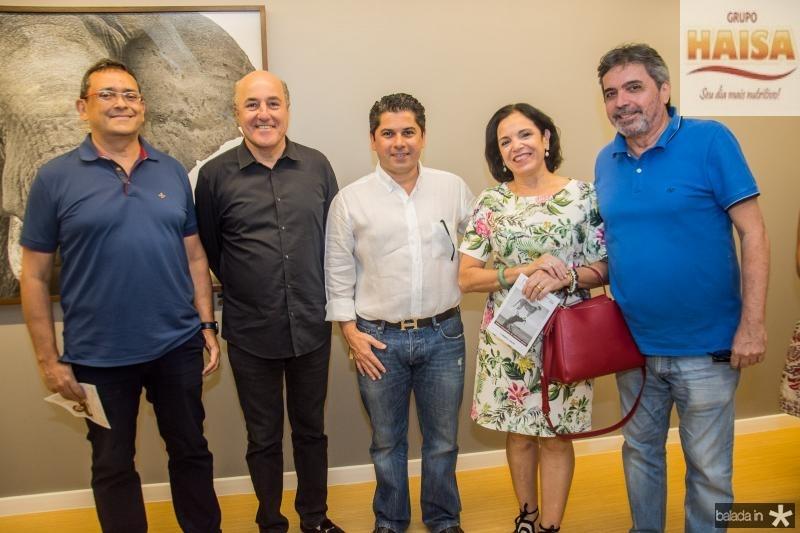 Jose Guedes, Silvio Frota, Pompeu Vasconcelos, Elusa Laprovitera e Totonho Laprovitera