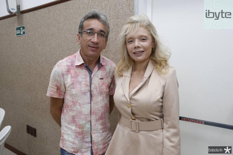 Matias Silva e Elizabeth Mesquita