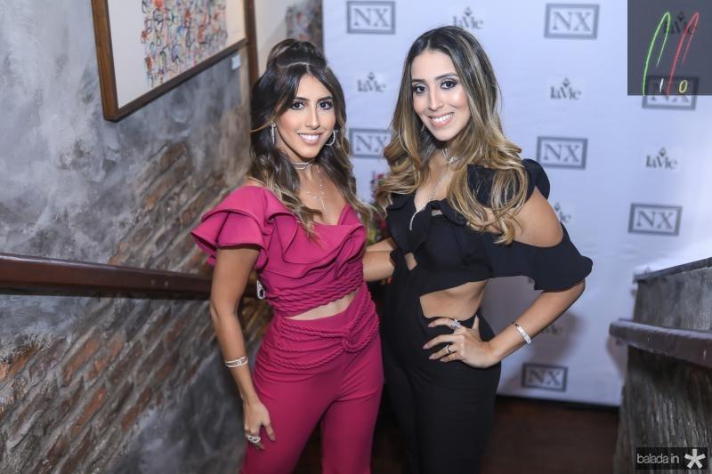 Tayra Romcy e Natalia Ximenes