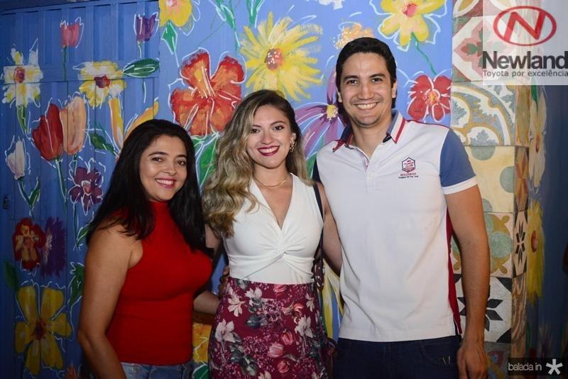 Rejane Queiroz, Raiyanne Queiroz, Samuel Cavalcante