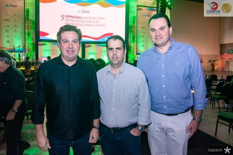 Samuel Dias, Rodrigo Caldas e Regis Tavares