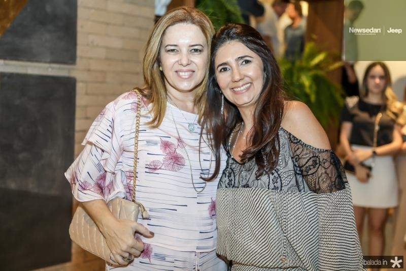 Ines Cavalcante e Luciana Cidrao