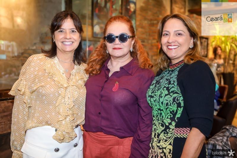 Iamara Silveira, Liseux Brasileiro e Liana Thomaz