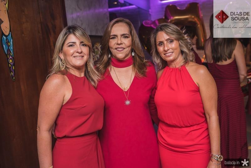 Lea Freitas, Ailza Ventura e Katiane Valenca