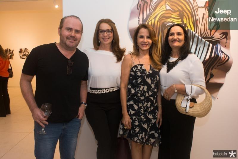 Rodrigo Pamplona, Marcia Andrea, Conceicao Barbosa e Chaguinha Silveira