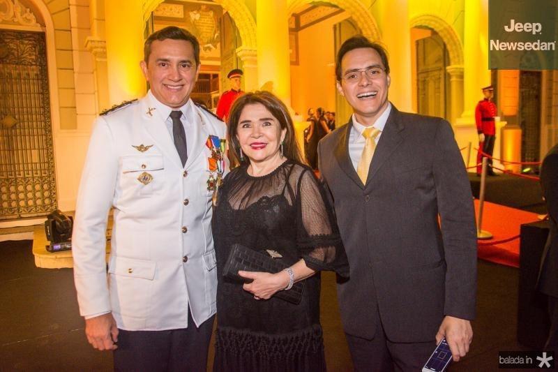 Andrade Mendonca, Dalva Arraes e Francisco Campelo