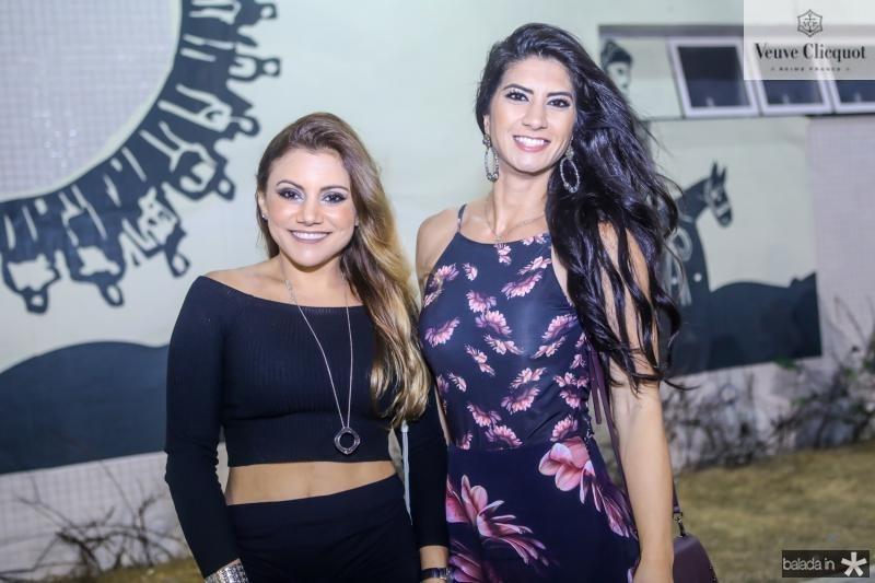 Karina Ramos e Barbara Roriz