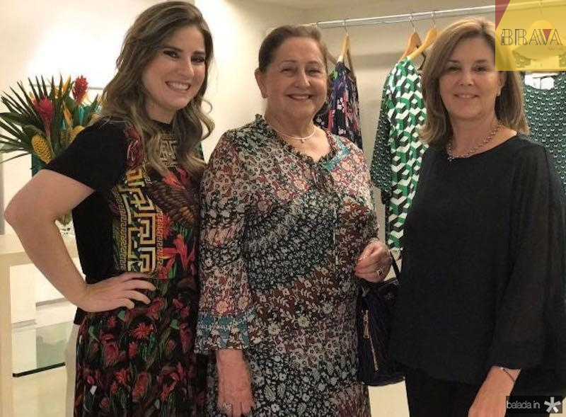 Maria Clara Dallolio, Meiriane Mota Machado e Fernanda Matoso
