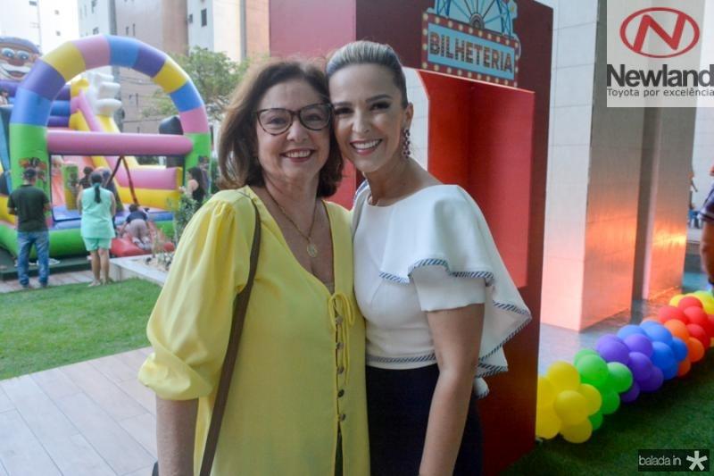 Adriana Neves e  Naiana Philomeno