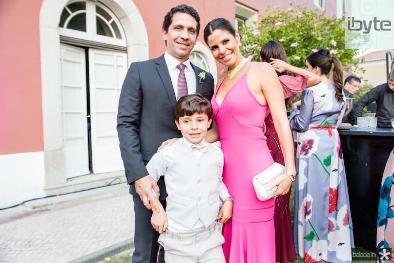 Bruno, Ticiana e Felipe Oliveira