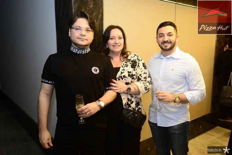 Eglimar Pinto, Giovana Castelo Branco, Diego Abreu