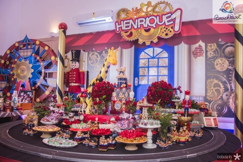 Aniversario de 1 Ano de Henrique Laprovitera Simoes