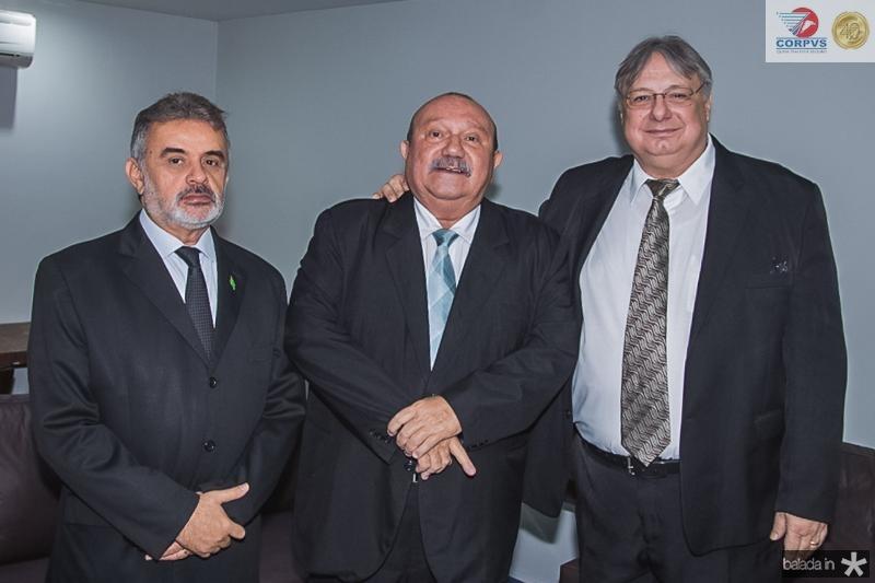 Azevedo Vieira, Fernando Hugo e Moroni Torgan