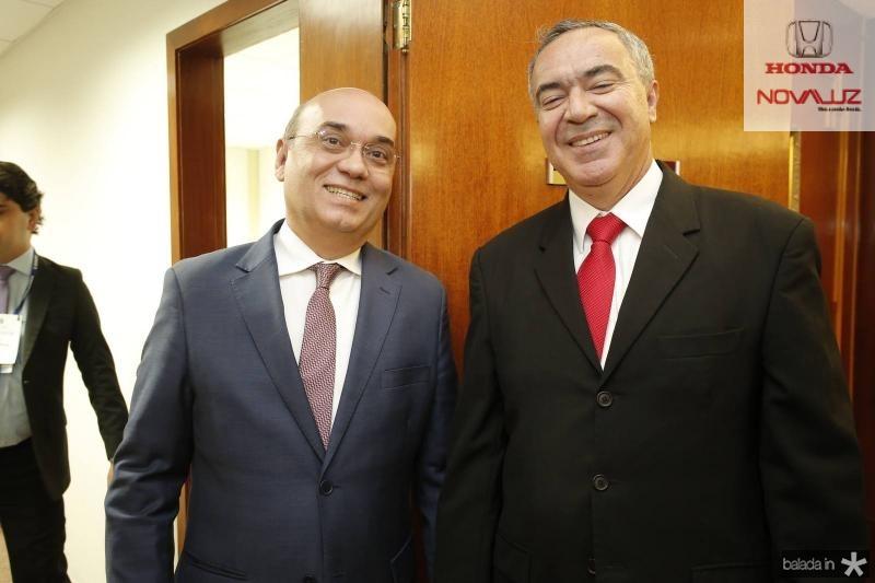 Luciano Lima e Luiz Eduardo Menezes