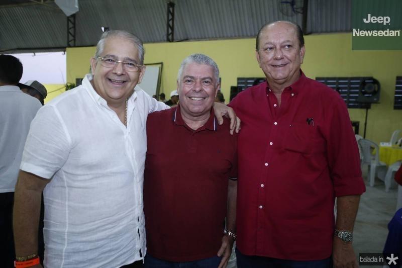 Francisco Sales, Ricardo Studart e Rafael Leal