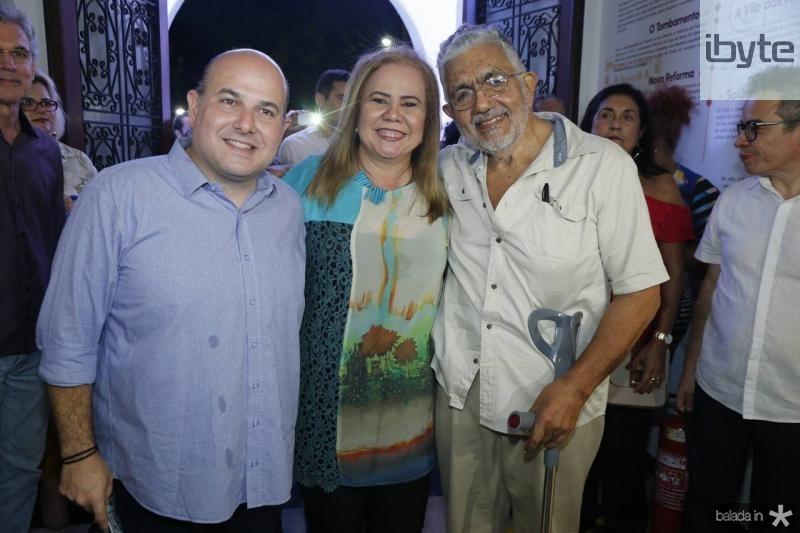 Roberto Claudio, Norma Paula e Descartes Gadelha