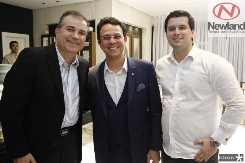 Ricardo Bezerra, Erik Nery e Artur Bezerra