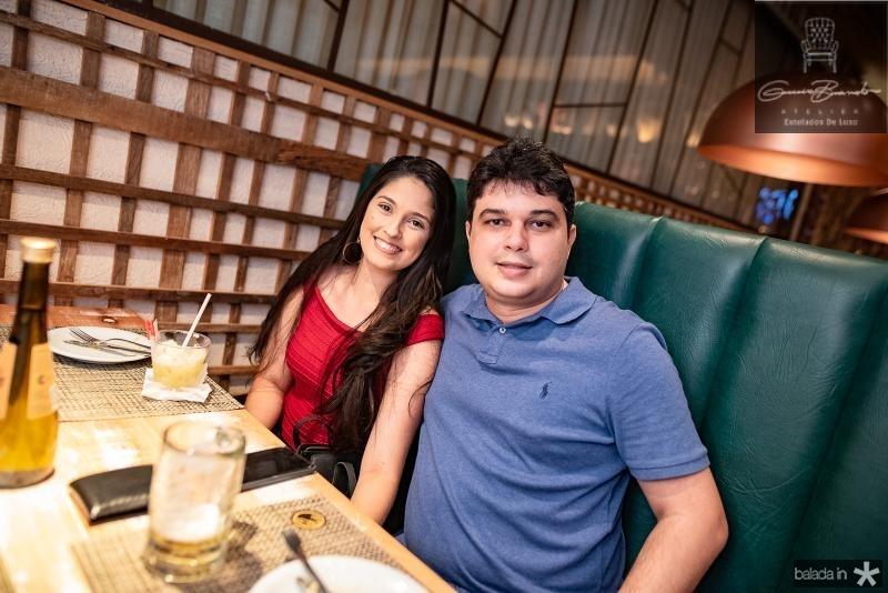 Alessandra Fernandes e Lucas Albuquerque