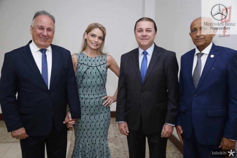 Joao Jacob e Maria Luiza Mehl, Eliseu Barros e Edilson Baldez
