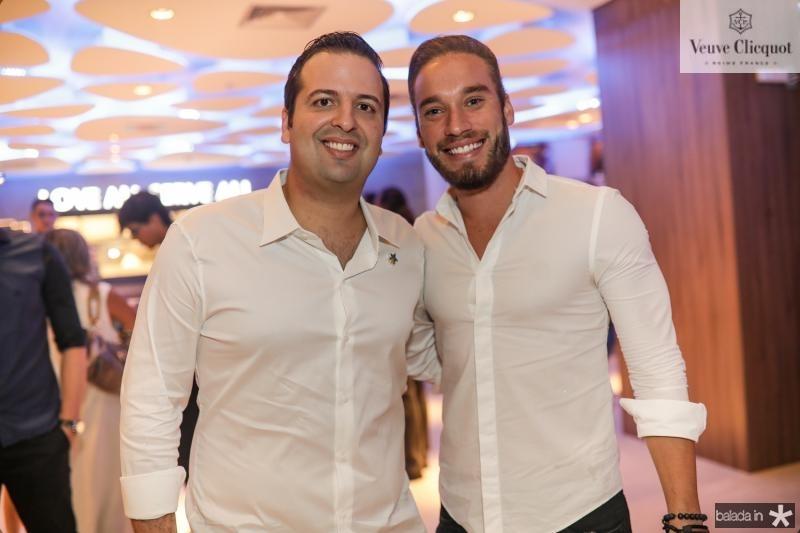Rodrigo Ponte e Thiago Galdino