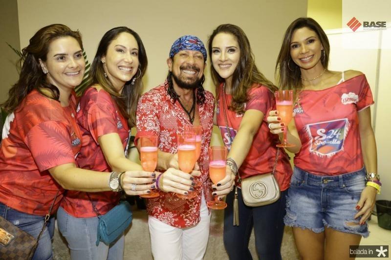 Ira Frota, Larissa Coelho, Bell e Natalia Marques e Renata Cabral