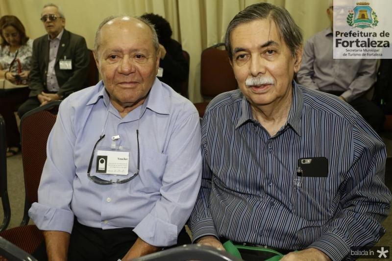 Ormando Campos e Osvaldo Gutierrez