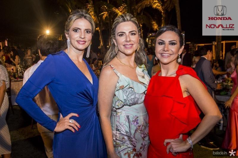 Michelle Aragao, Suyane Dias Branco e Adriana Queiroz