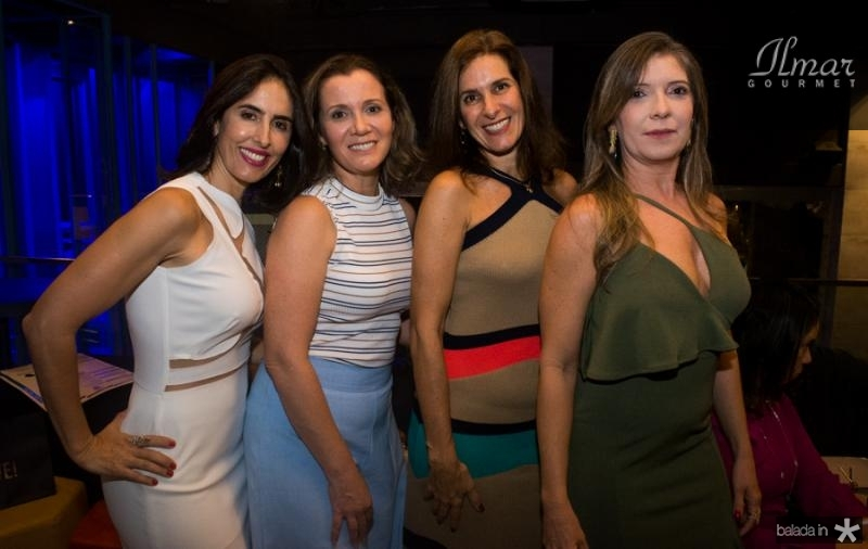 Tarita Beloti, Lernise Ferlim, Denise Morete e Fabiola Martins