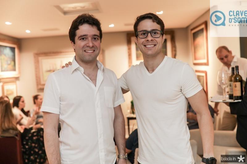 Lucas Pontes e Fradique Ventura