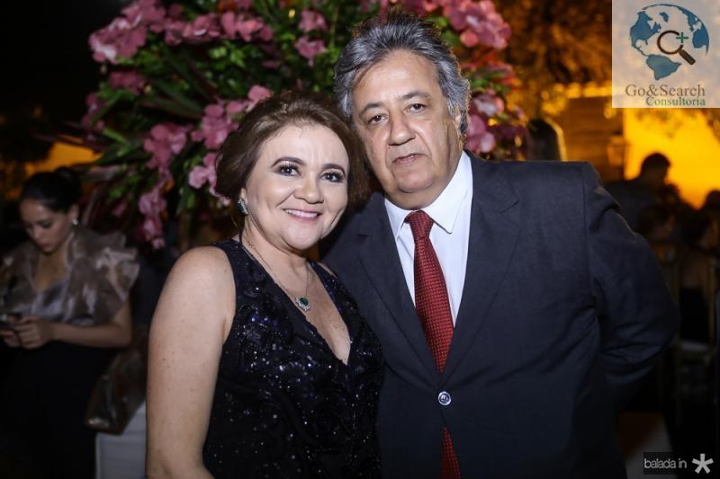 Nequita e Roberto Romcy