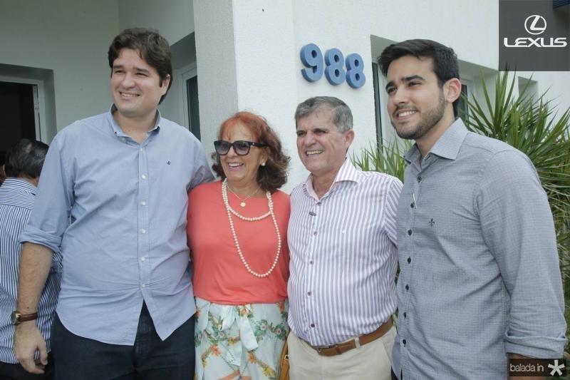 Fernando Torres, Fatima Duarte, Guilherme Theophilo e Cabral Neto