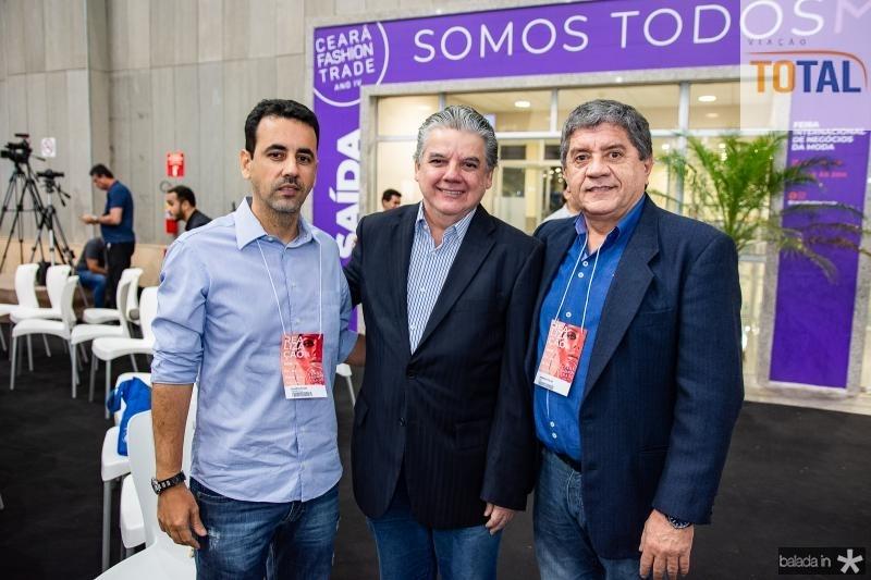 Aluisio Filho, Chico Esteves e Sampaio Filho