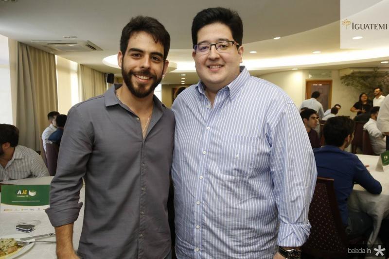 Pedro Rocha e Yuri Torquato