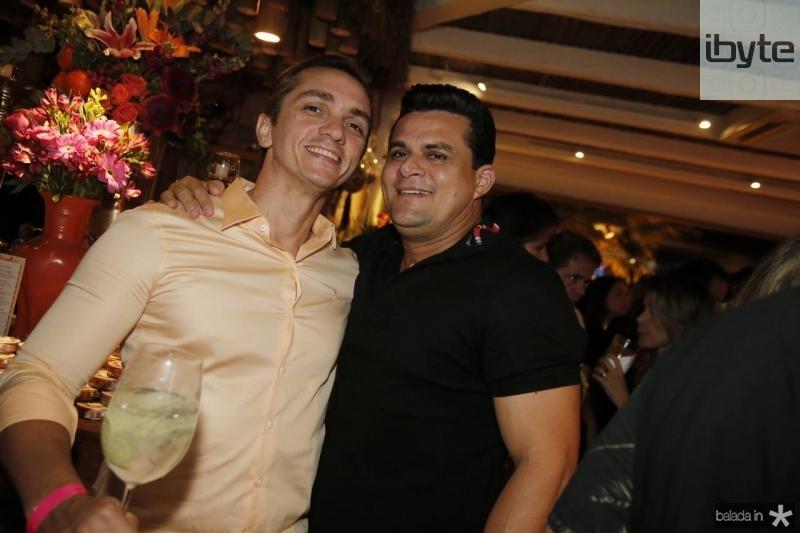Marcelo Marfrutas e Isaias Duarte
