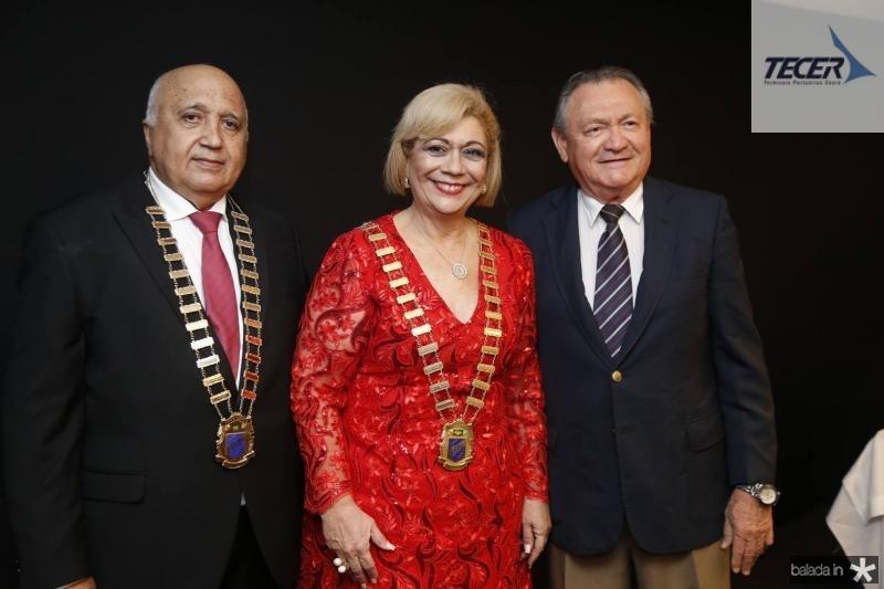 Epitacio Vasconcelos, Priscila Cavalcante e Edimilson Rodrigues