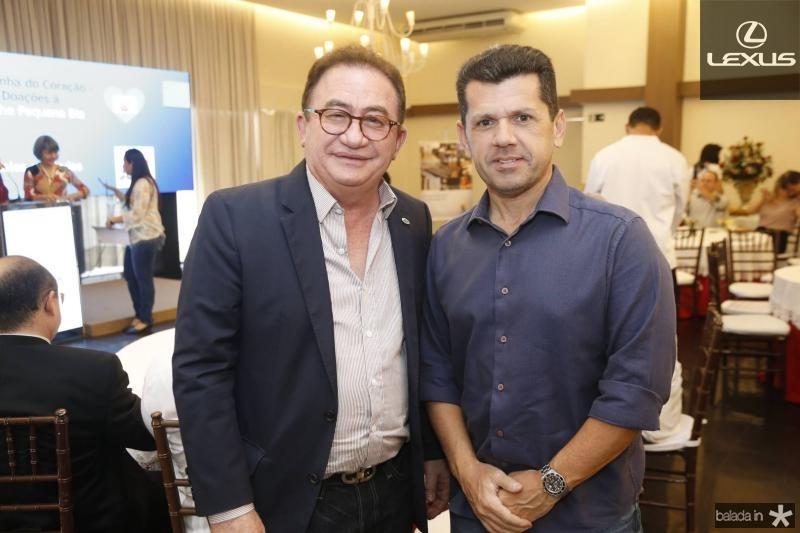 Manuel Linhares e Erick Vasconcelos